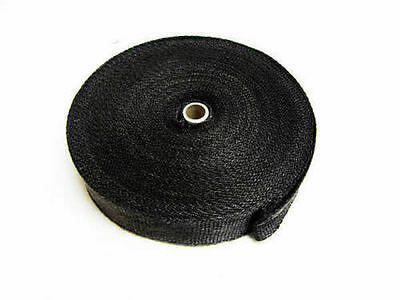 Black Graphite Exhaust Insulating Heat Wrap Tape Exhaust Shields - 20M - UK Made