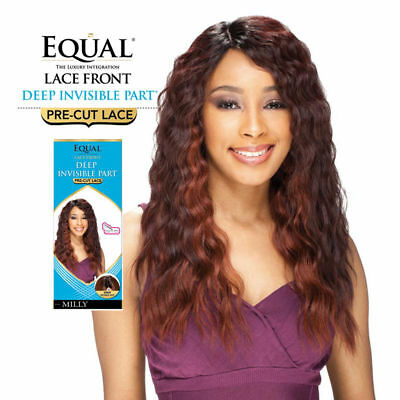 Milly By Freetress Equal Synthetic Lace Front Deep Invisible Part Wig