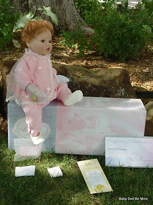 "New In Box Lee Middleton Artist Studio Collection * Butterfly Dreams * 20"" Doll"