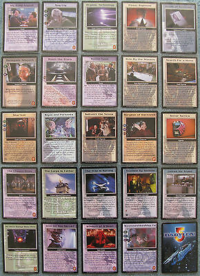 Babylon 5 CCG Wheel of Fire Uncommon Card Selection [Part 2/2]