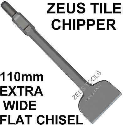 Extra Wide Flat Jack Hammer Chisel Jackhammer Tile Lifting Chipping For Hitachi