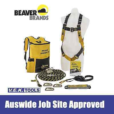 BEAVER Roofers Full Body Safety Roofing Harness Kit-AuswideWarranty BK061215TRAD