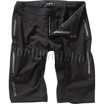 """Madison Flux88 Mens Bicycle Cycling Shorts """"BLACK"""" Size: LARGE"""