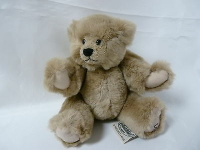 Ganz Cottage Collectibles Christy Rave Jointed Brown Bear Stuffed Animal 1995