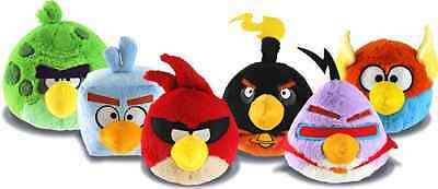 Angry Birds Space 6 or 8 Inch Plush Soft Toy All Characters available!