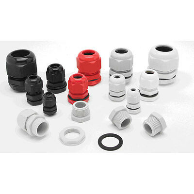 Ip68 25Mm Cable Compression Stuffing Gland Pack Of 5, For Outside Lighting