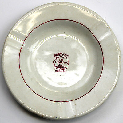 Maddock & Sons Ashtray Made for The Hotel Australia, Melbourne Vintage