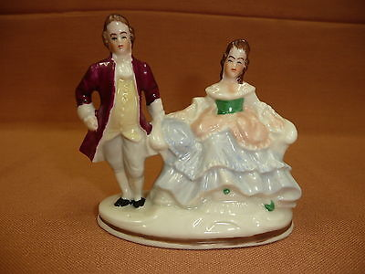 Dresden Man and Lady Figurine Germany