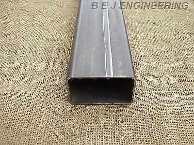 Mild Steel Box 100mm x 60mm x 3mm - 1000mm lg - Rectangular Tube