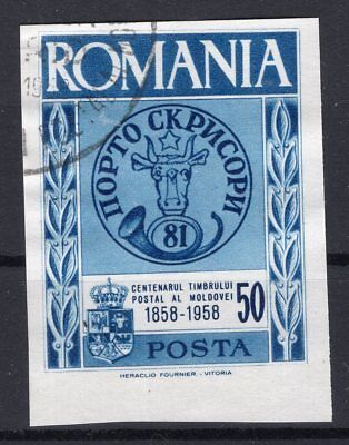 Romania Exile Gouvernement 1958 - Postage Centenary Of Moldova  Used