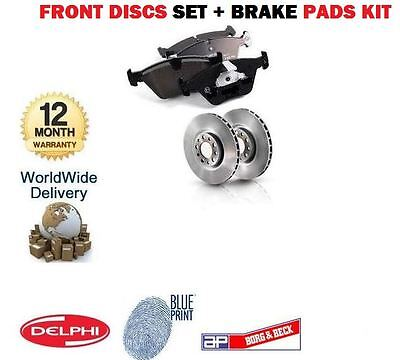 FOR HONDA HRV 1.6i 2/1999-12/2004 NEW FRONT DISCS SET + DISC PADS KIT