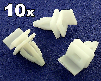 10x Honda Accord Plastic Side Sill / Skirt Upper Mounting Trim Clip Fastener