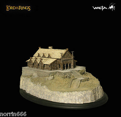 LORD OF THE RINGS EDORAS GOLDEN HALL Sideshow Weta