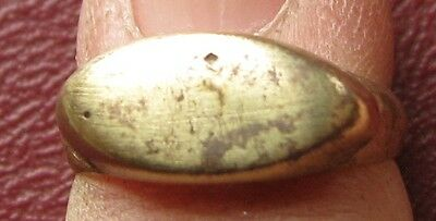 Ancient Artifact > Metal Detector Find > FINGER RING 5 1/4 US 15.75mm 9682 DR