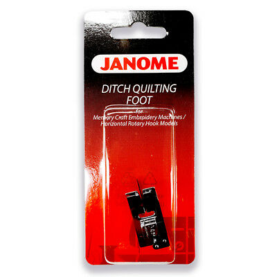 "Janome Ditch Quilting Foot - Stitch In The Ditch! Snap On, Patchwork, ""S"" Foot"