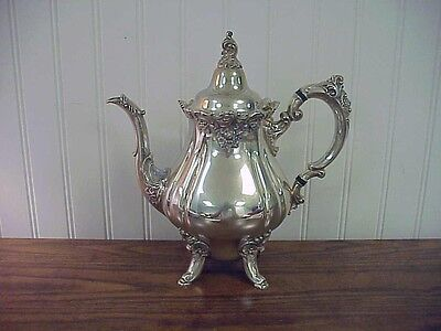 Wallace Baroque Silver Plate Coffee Pot #281