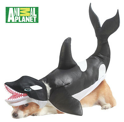 Orca Shamu Killer Whale Dog Costume