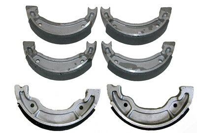 Front & Rear Brake Shoes Yamaha Grizzly 80 & 125 Breeze Badger 80 Raptor 50 & 80