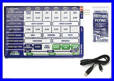 Brand New Castle Creations Field Link Portable Programming Card Air