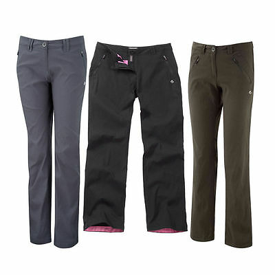 Craghoppers Womens Ladies Kiwi Pro Stretch Walking Trousers