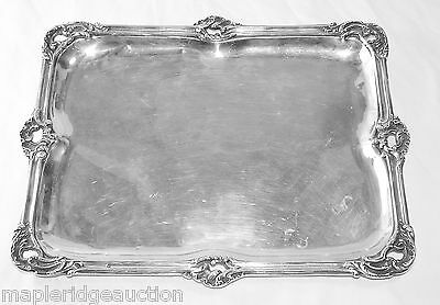 Antique 19th Century France/French Sterling Silver Tray, Adolphe Boulenger Paris