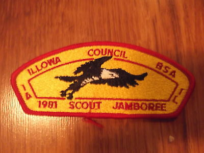 MINT 1981 JSP Illowa Council