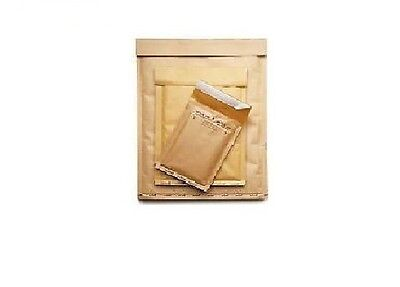 50 Buste Imbottite Bolle Mail Lite Gold G/4 Int.240X330