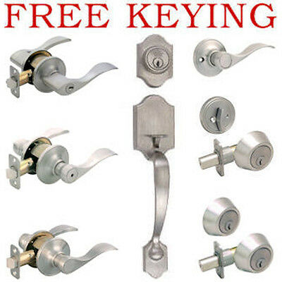 Designers Impressions Kingston Design Satin Nickel Door Lever Knob Hardware