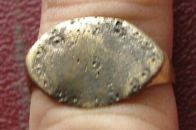Ancient Artifact > Metal Detector Find > FINGER RING 8 1/2 US 18.5mm 9709 DR