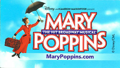 MARY POPPINS BROADWAY SOUVENIR MAGNET - ASHELY BROWN
