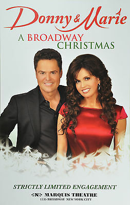 Donny And Marie A Broadway Christmas -  Marquis Theatre