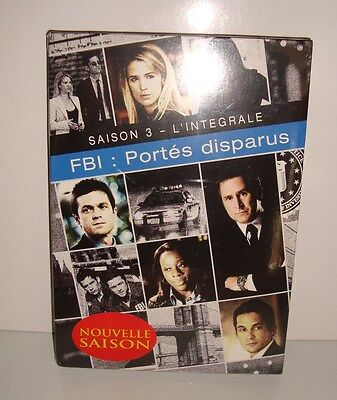 Dvd Coffret Collector Saison 3 L'integrale Fbi Portes Disparus Neuf Sous Cello