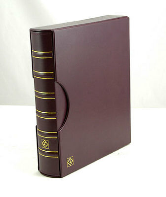 Lighthouse Grande Binder with matching Slipcase RED