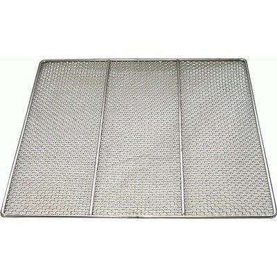 "ACE Lot of 4 Stainless Steel Donut Frying Screens 19"" W x 19"" L DN-FS19"