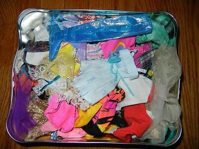 HUGE Vintage BARBIE Lot 101 Pc Clothing & Accessories Mixed Lot