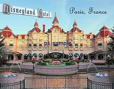 France - Paris - DISNEYLAND HOTEL - Travel Souvenir Flexible Fridge Magnet