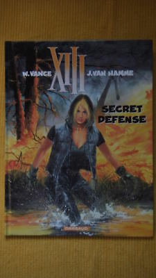 Xiii Tome 14 : Secret Defense - W. Vance - J. Van Hamme - E.o. - Dargaud -2000-