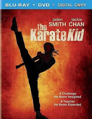 The Karate Kid Blu-ray DVD 2010 2-Disc Set Great Movie