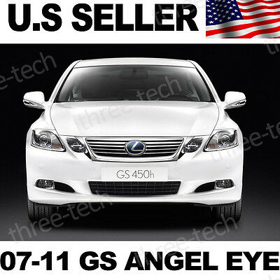 07-11 Lexus GS350 450h LED Angel Eye JDM LED V2 HID Xenon White