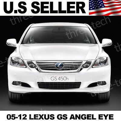07 08 09 10 11 Lexus GS350 450h LED Angel Eye Custom LED Light Xenon White LED