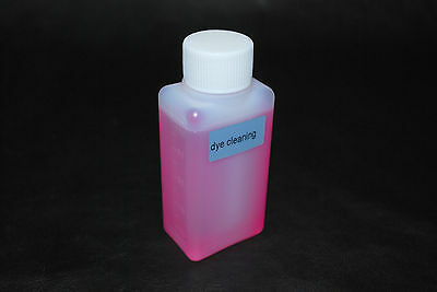 Cleaning Solution for Dye ink HP, Canon, Epson, Brother (100ml) US Fast Shipping