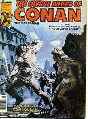 The Savage Sword Of Conan N° 58. 1980. Roy Thomas. Buscema. Dezuniga. Marvel.