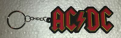 Collectible ACDC AC/DC Key Chain Hard Rock Roll Music Band New Sealed #DO