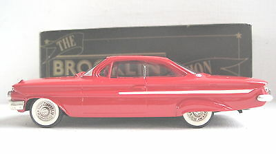 Brooklin models BRK 44 1961 Chevrolet Impala Sport Coupe  ( Red)  MB