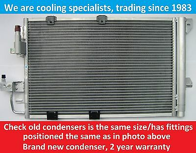 Brand New Condenser (Air Con Radiator) Vauxhall Astra G 2002 To 2004 / Zafira A