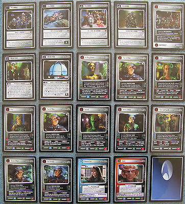 Star Trek CCG The Borg Rare Cards [Part 1/3]