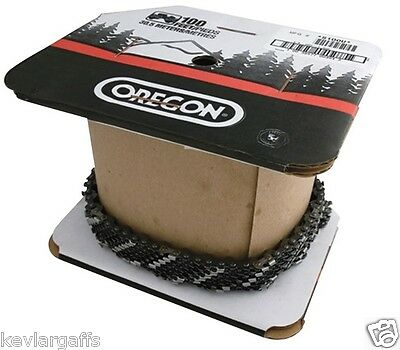 100 feet .050 Gauge FULL COMP 72CL OREGON 3/8 sawchain full chisel 100 foot roll