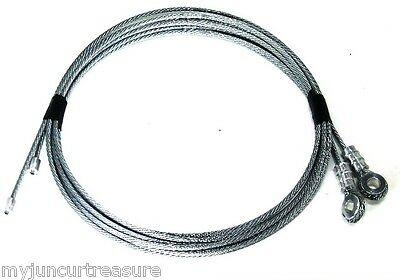 Whiting Style Box Truck / Roll-up Door Cables, For Doors With U-Bolt Mounting