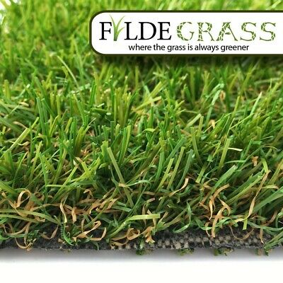 26mm Top Quality Artificial Grass LYTHAM Artificial Grass Lawn - Free Delivered!