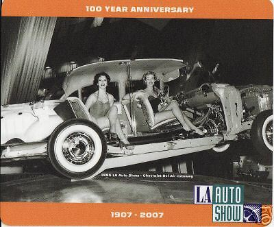 2007 LA Auto Show mouse pad photo from 1955 Show Chevrolet Bel Air Chevy